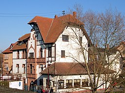 Am Bahnhof in Ladenburg