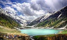 Lake Saiful Muluk, located at the northern end of the Kaghan Valley, near the town of Naran in the Saiful Muluk National Park. It is considered as one of famous tourist spot in Pakistan.