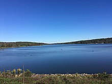 Lake Galena in Peace Valley Park from dam.jpg