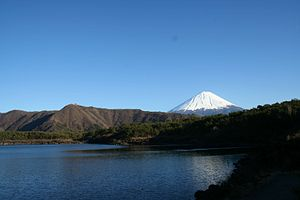 Lake Sai from west end with Mount Fuji.JPG