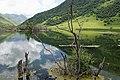 Lake in Sno river valley, Caucasian mountains, Georgia.jpg