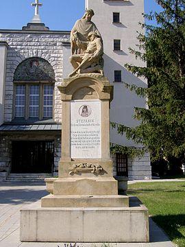 Pomník padlým v 1. a 2. svetovej vojne (lamač)