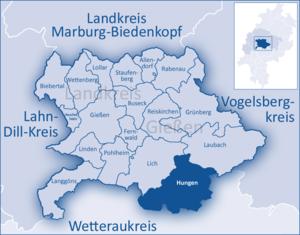 Hungen - Image: Landkreis Gießen Hungen