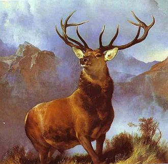 1851 in art - Landseer – Monarch of the Glen