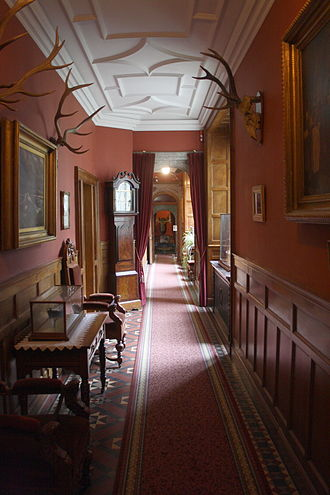 Lanhydrock - A corridor within the property