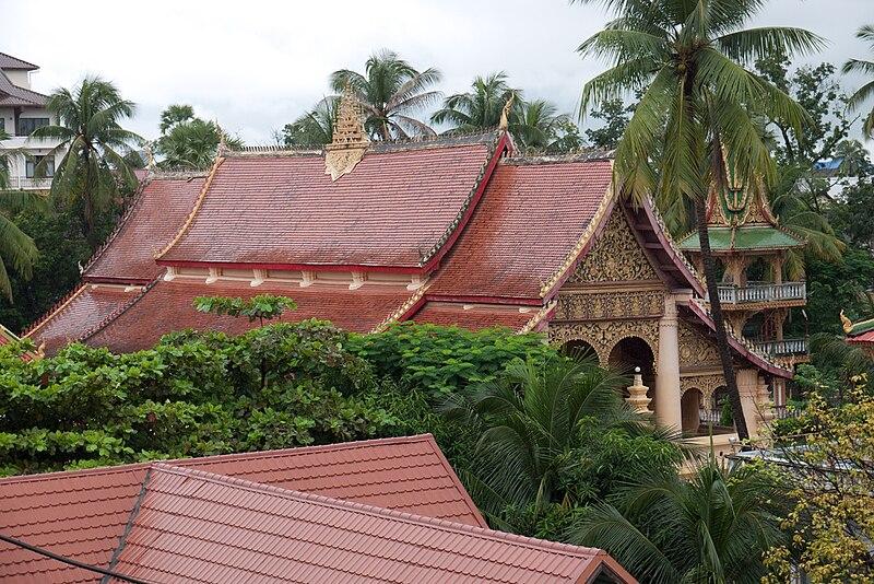 Wat Ong Teu, Vientiane