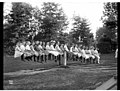 Large group of children on a seesaw in Volunteer Park, ca 1909 (MOHAI 6151).jpg