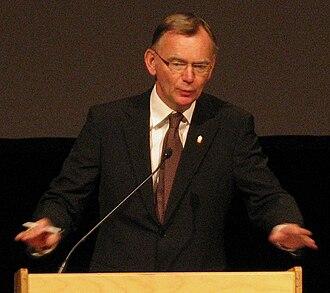 Lars Bäckström - Lars Bäckström in 2008.