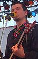 Lavon Volski on Krambambula Concert September 11 2004 Ausschnitt.jpg