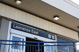Lawrence East station Toronto subway station