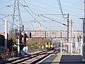 Lea Bridge station with new crossover.jpg
