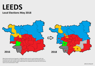 2018 Leeds City Council election