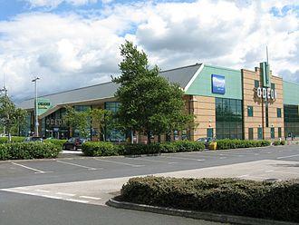 Thornbury, West Yorkshire - The Leeds Bradford Odeon multiplex cinema, Gallagher Leisure Park, Thornbury, Bradford.