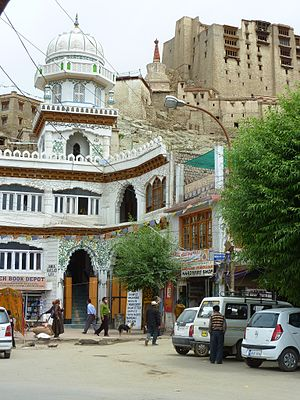 Leh - Leh mosque and palace