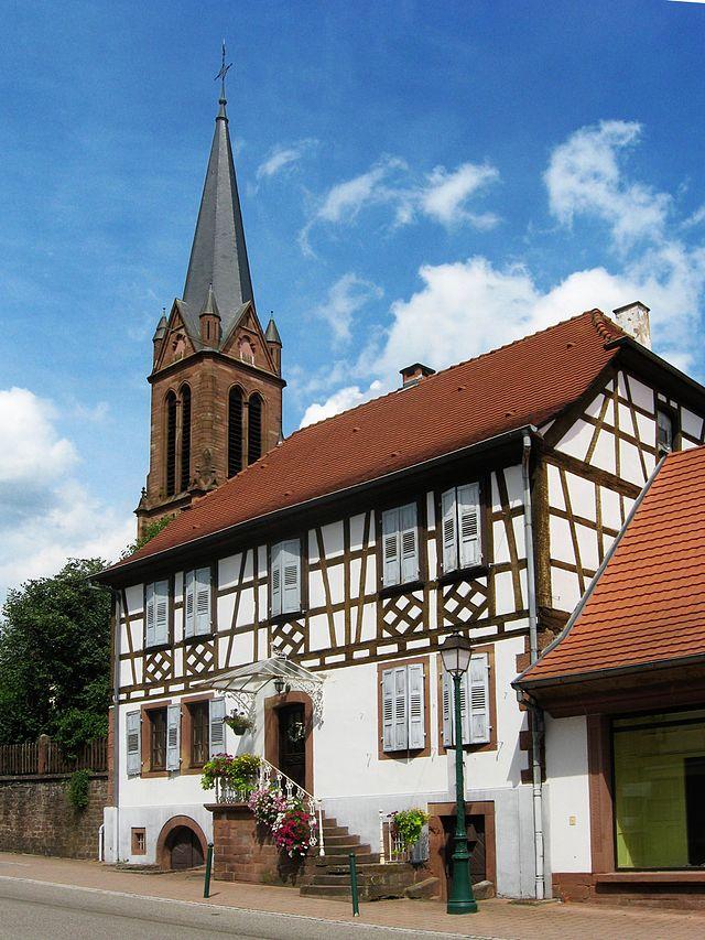 Lembach - Gemeinde im Wasgau - Elsass