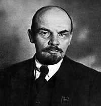 Portrait officiel de Lénine, datant de 1920.
