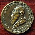 Leone leoni, medaglia di pietro aretino, 1536.JPG