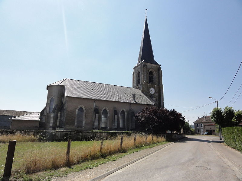 Les Paroches (Meuse) Église de l'Invention-de-Saint-Étienne extérieur