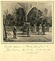 """Les gardes nationaux d'Heurteauville gardant le """"Jean Bart"""" au clair de lune, 8 novembre 1870.jpg"""