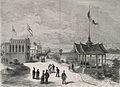 Les pavillons de Perse et de Siam, dans le parc du Trocadéro.jpg
