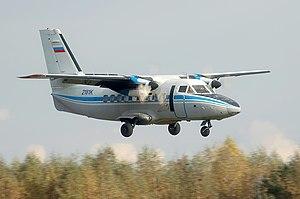 2015 Červený Kameň mid-air collision - Image: Let L 410