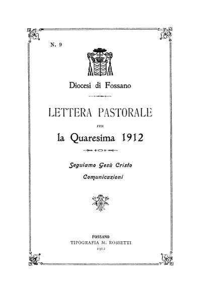 File:Lettera pastorale per la Quaresima 1912 (Signori).djvu