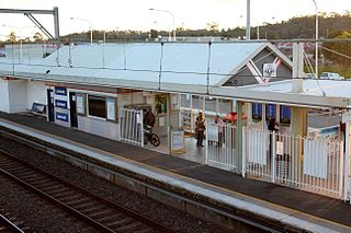 Leumeah railway station railway station in Sydney, New South Wales, Australia