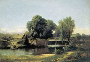 Lev Lvovich Kamenev - Image: Lev Kamenev By the Dam