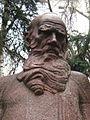 Lev Tolstoy by Merkurov (Prechistenka) by shakko 03.jpg