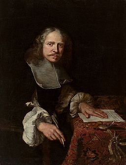 Leveck Portrait of a man writing a letter