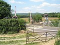 Level crossing at Lord's Farm - geograph.org.uk - 1330196.jpg