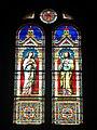Levico Terme, chiesa del Santissimo Redentore - Vetrate laterali - San Giuseppe e Immacolata.jpg