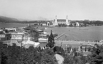 Lewis and Clark Centennial Exposition - Overview of the grounds