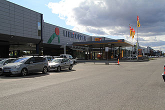 Lier, Norway - Image: Liertoppen Shopping Center Front 20110921