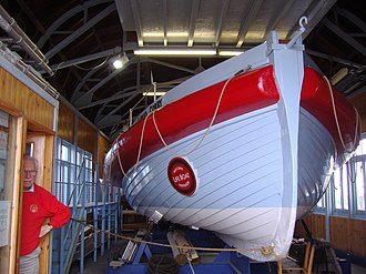 National Historic Fleet - Image: Lifeboat Alfred Corry, Southwold, 14th June 2009 (2)