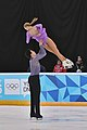 Lillehammer 2016 - Figure Skating Pairs Short Program - Alina Ustimkina and Nikita Volodin 2.jpg