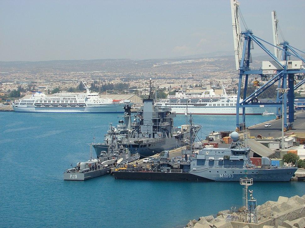 Limassol Hafen UN
