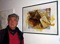 Lister Künstler Atelierrundgang 2012, Eröffnung Kollenrodtstraße 10A Hannover, János Nádasdy, nature mort mit makrele, 2008.jpg