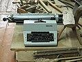 Listvitsa typewriter in Chagoda, Vologda Oblast (62).jpg