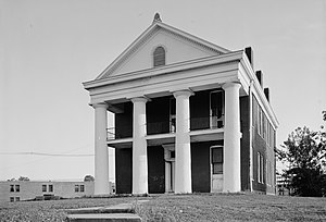 National Register of Historic Places listings in Claiborne County, Mississippi - Image: Literary Society Building, Alcorn State University