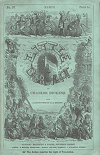 <i>Little Dorrit</i> monthly serial; novel by Charles Dickens; published 1855–1857
