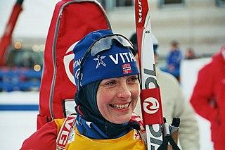 Liv Grete Skjelbreid Norwegian biathlete
