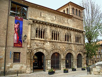 Palace of the Kings of Navarre, Estella - View of the Palace.