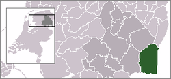 Location of Emmen