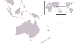 Location of Pulau Norfolk