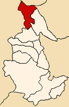 Location of the province Huanta in Ayacucho.png