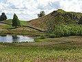 Lochan on Newtyle Hill - geograph.org.uk - 547930.jpg
