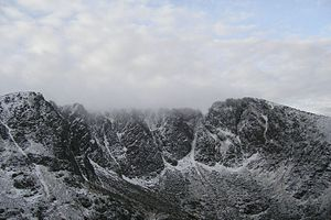 Lochnagar - Lochnagar corrie in winter