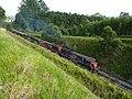 Locomotivas de comboio que passava sentido Guaianã na Variante Boa Vista-Guaianã km 151 em Mairinque - panoramio.jpg