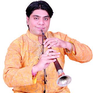 Lokesh Anand Indian Shehnai Player (born 1978)